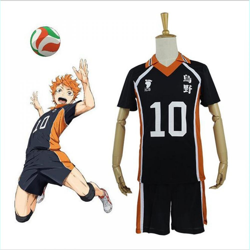 New Arrival Hot Anime Karasuno High School Volleyball Club Cosplay Costume Sportswear Haikyuu Jerseys 9 Characters Uniform In 2020 Karasuno Haikyuu Haikyuu Cosplay