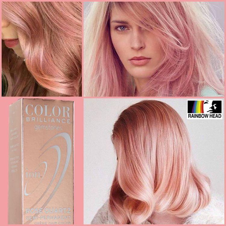 haircolor aqua purple on Instagram   Ion color brilliance ...