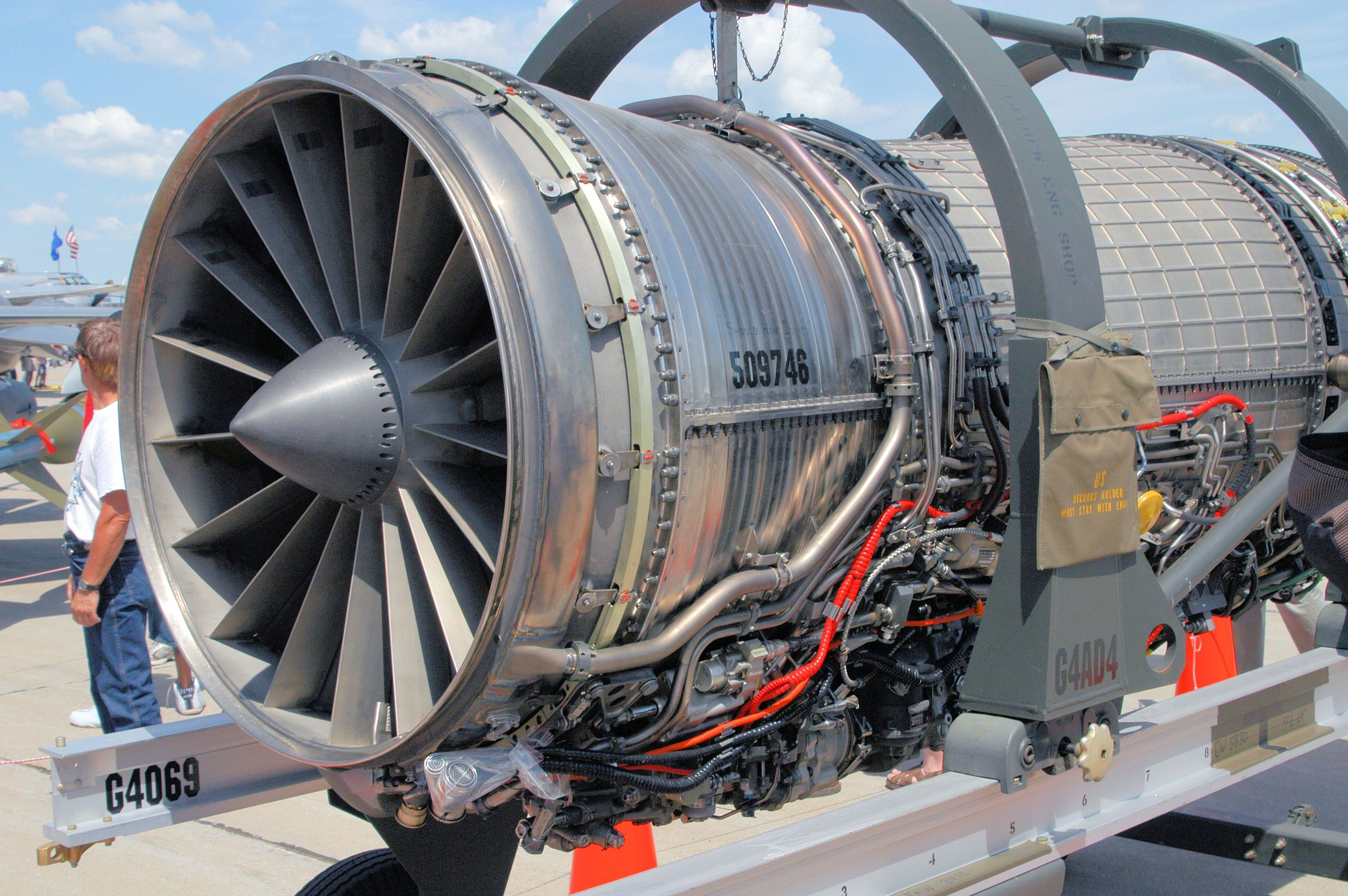 F110-GE-100 F-16 엔진 - 유용원의 군사세계