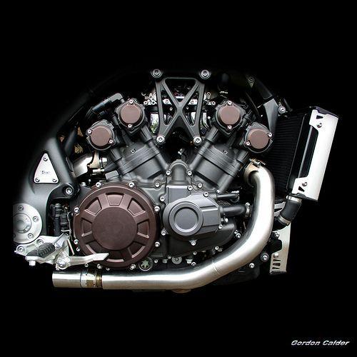 NO 56: YAMAHA STAR VMAX MOTORCYCLE ENGINE | by Gordon Calder