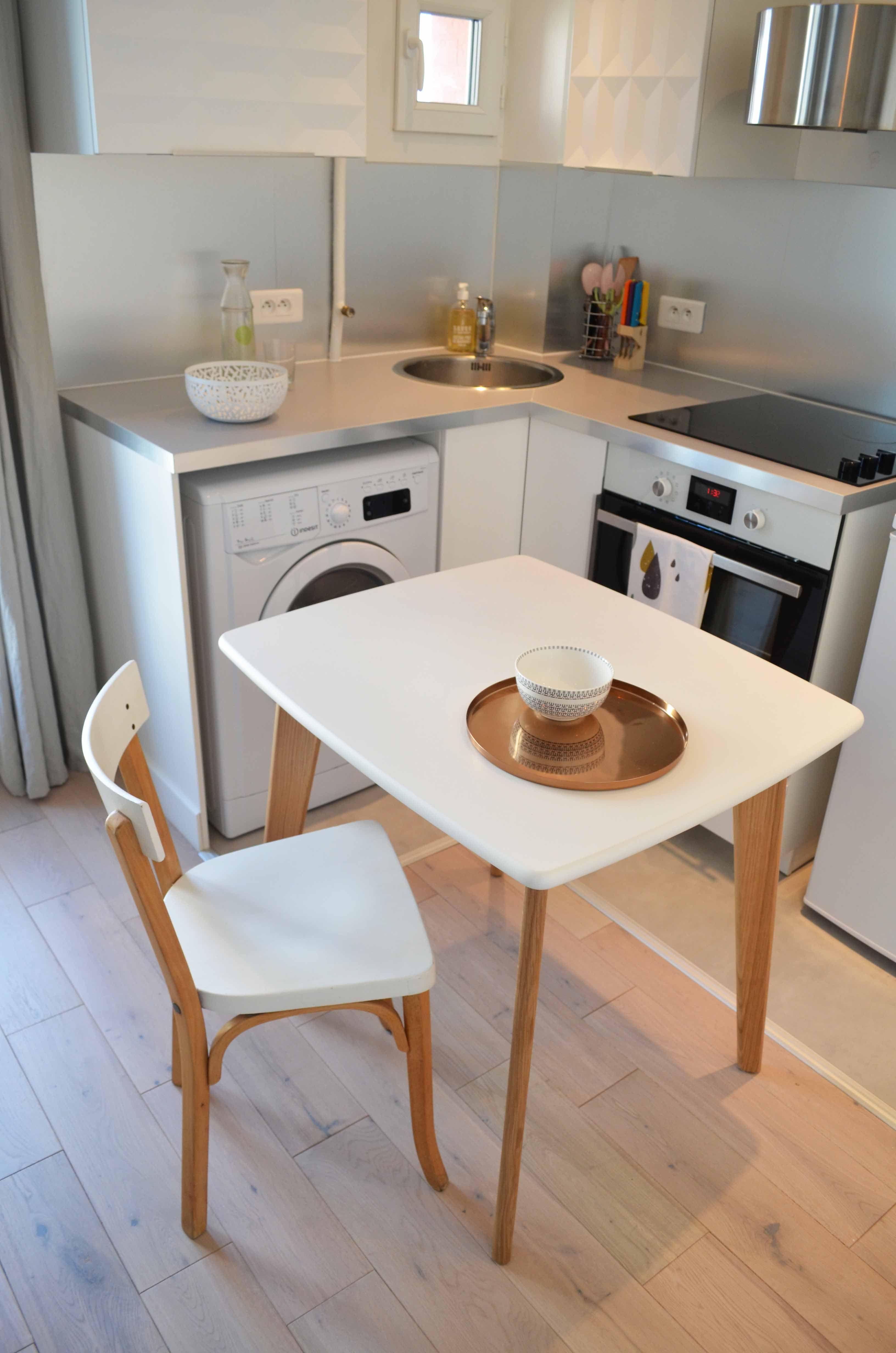 Good Sandrine Carr Dcoratrice Table De Repas Chaise With Table De Cuisine  Vintage