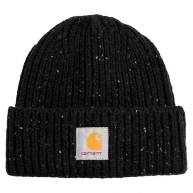 Anglistic Beanie in Black Heather by Carhartt