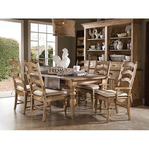 Kincaid Furniture Homecoming 7 Piece Dining Set With Farmhouse Leg Amazing Dining Room Sets In Ct Decorating Design