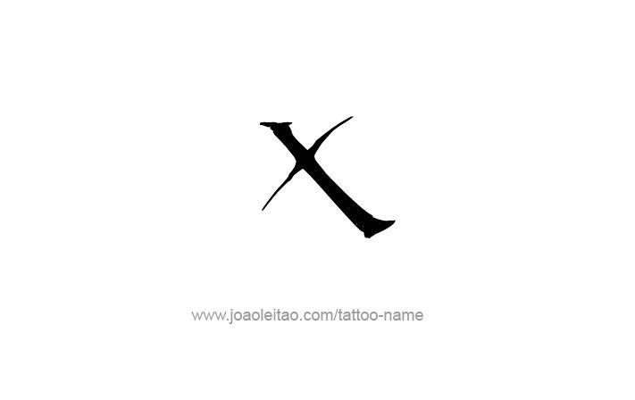 Desenho De Tatuagem Do Número Romano X 10 Caligraphy Pinterest