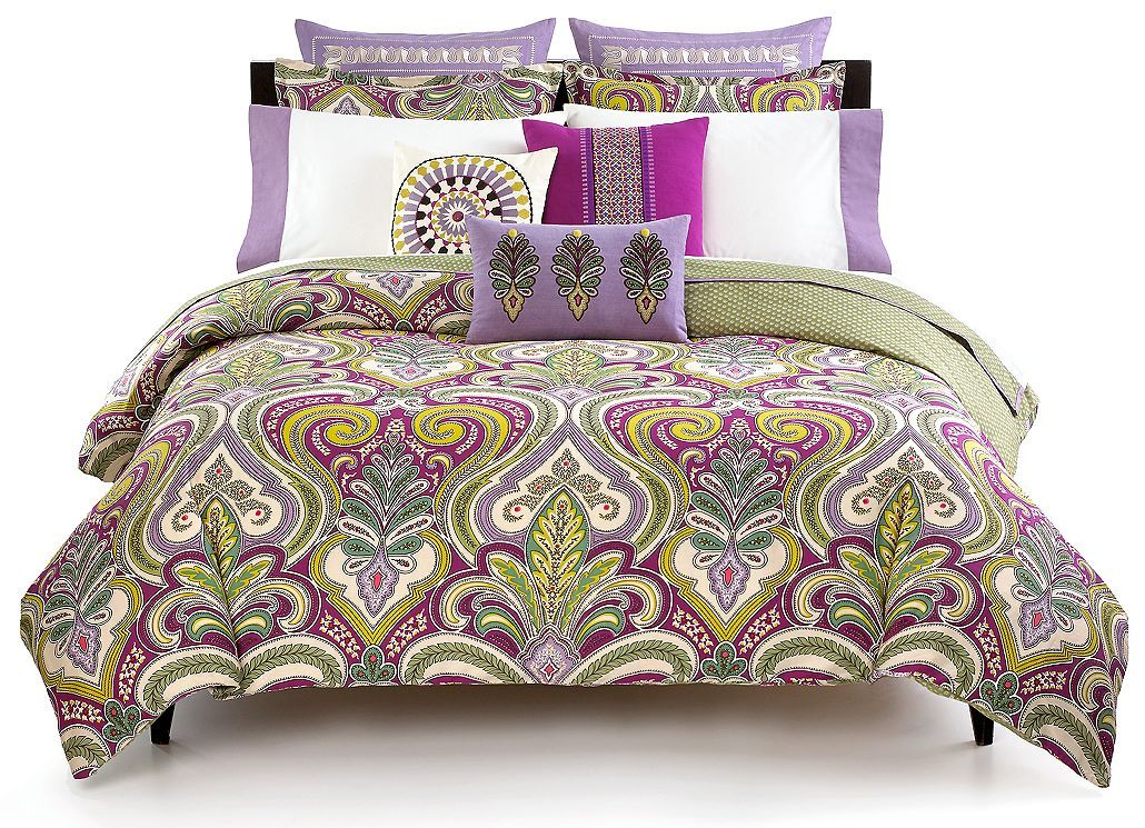 Echo Bedding Vineyard Paisley Comforter And Duvet Cover Sets