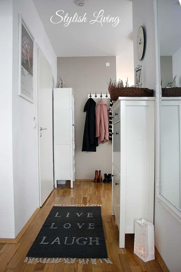 Sehr Kleine Schlafzimmer Gestalten, Flur gestalten kleine wohnung einrichten tipps wohnen home