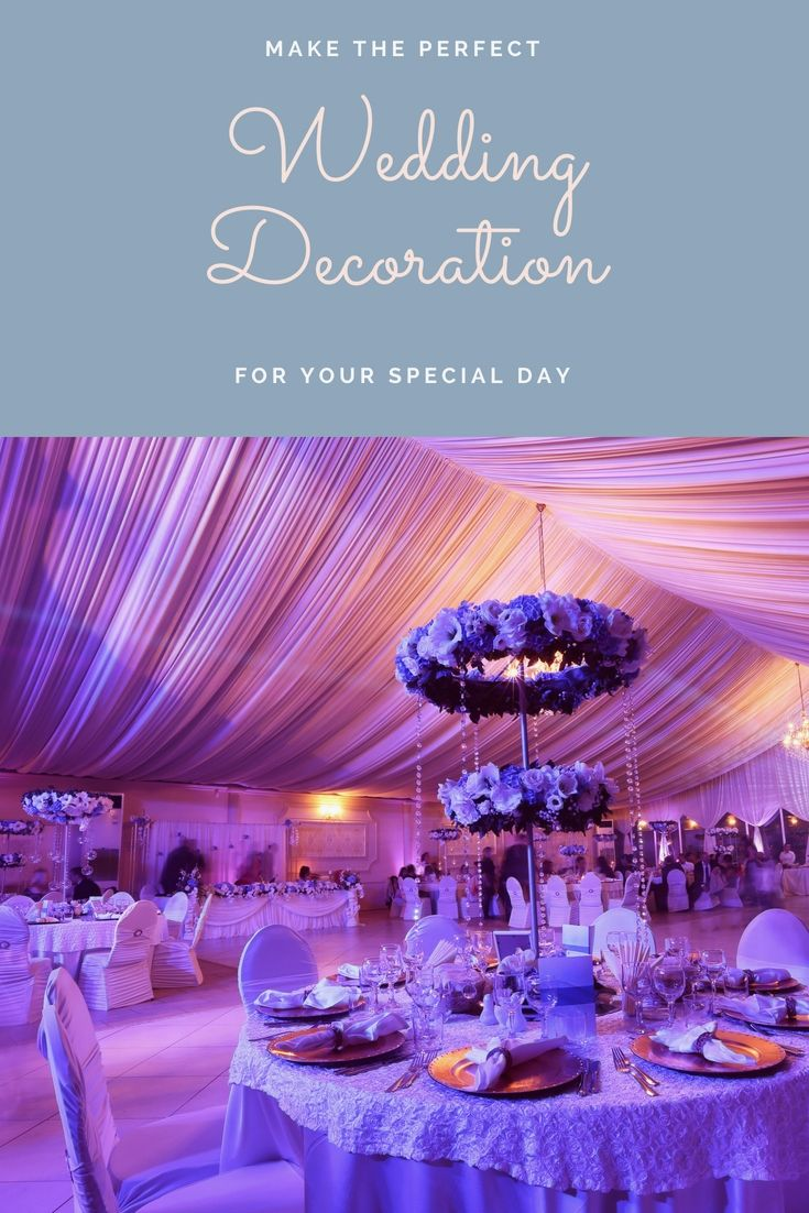 Unique wedding decoration ideas for reception  Redecorate An Individualus Wedding Reception Using These Unique