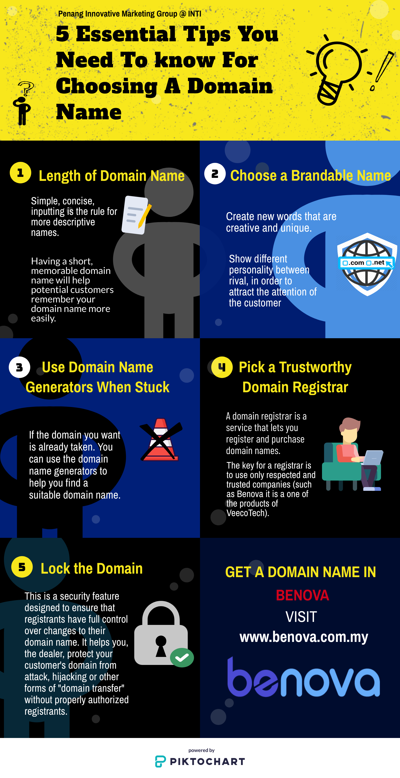 5 Essential Tips You Need To Know For Choosing A Domain Name How To Memorize Things Domain Name Generator Names