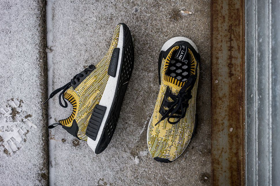 "adidas NMD Runner Primeknit ""Yellow Digi Camo"""