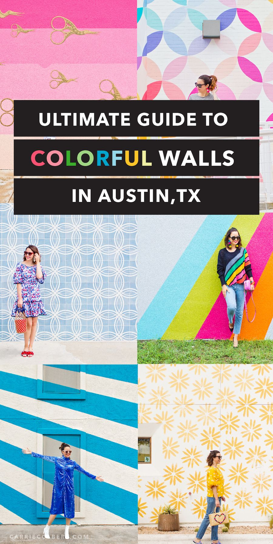 Austin Mural Guide Your Guide To Austin S Most Colorful Walls Carrie Colbert Austin Murals Austin Travel Austin Texas Travel