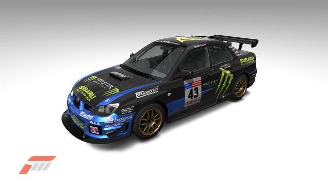 Subaru Impreza WRX STI 05 Monster Energy In SF! #43
