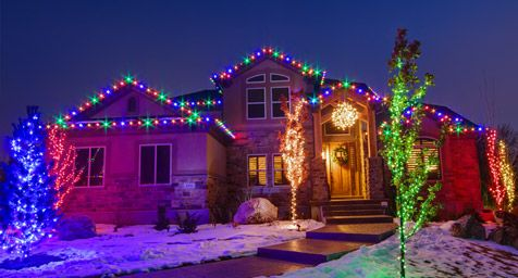 Outdoor Christmas Lights Ideas for the Roof - Outdoor Christmas Lights Ideas For The Roof Exterior Christmas