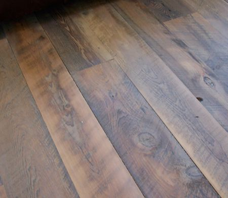 Fabulous Rustic Hardwood Flooring Wide Plank Reclaimed Hemlock Wood Black39s Farmwood Floor Reveal Pinterest