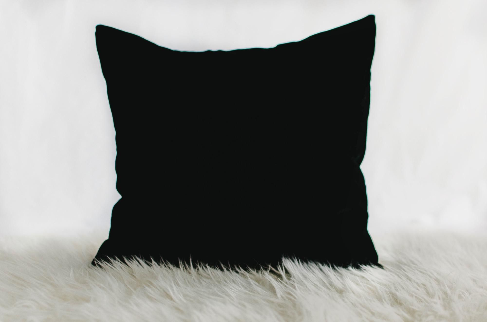 What S More Divine Than The Pure Silk That Caresses Your Skin As Soft As Baby S Breath Yet As Dark As The Pitch Black Night Sky Not Pillows Pillow Shop Black