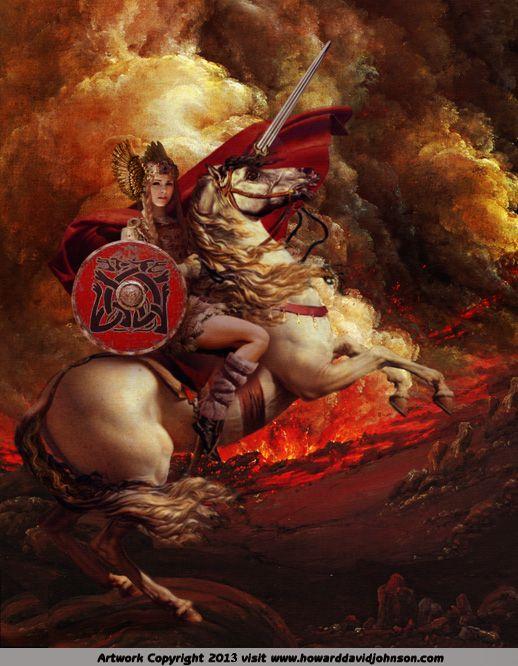 female viking gods
