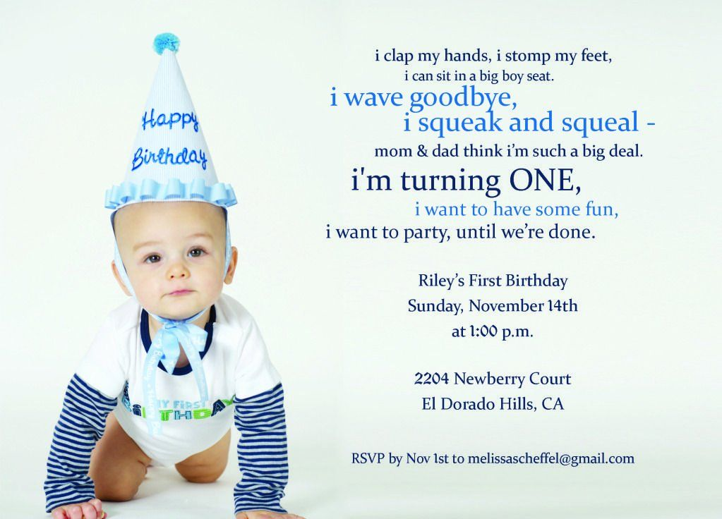 1st Birthday Party Invitation Wording In 2020 1st Birthday