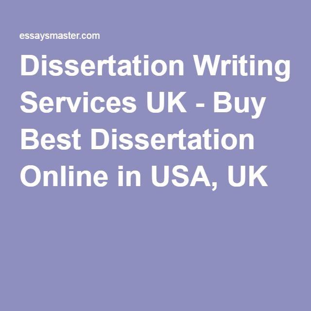 dissertation services uk