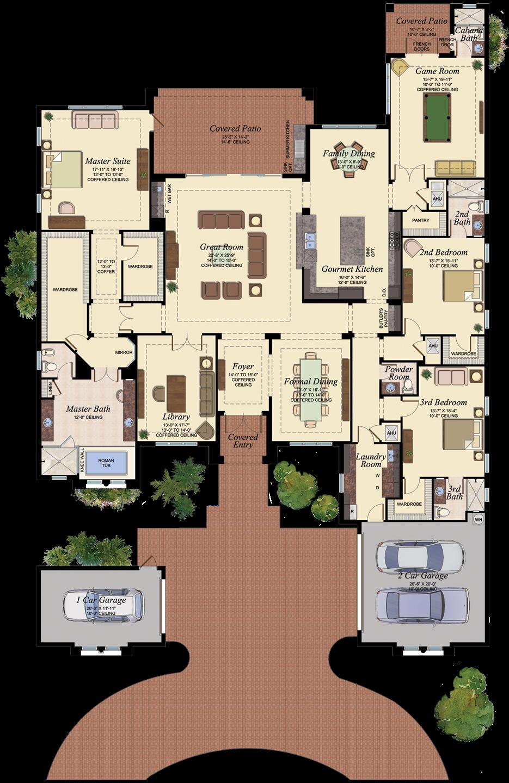 Versailles 901 House Blueprints New House Plans Home Design Floor Plans