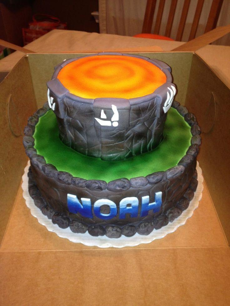 skylander cake ideas Found on givemesomesugar2blogspotcom