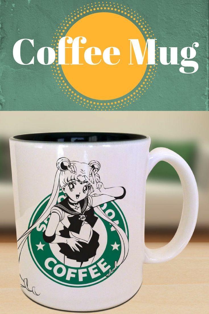 Coffee mug famous anime sailor moon parody mug gift ideas