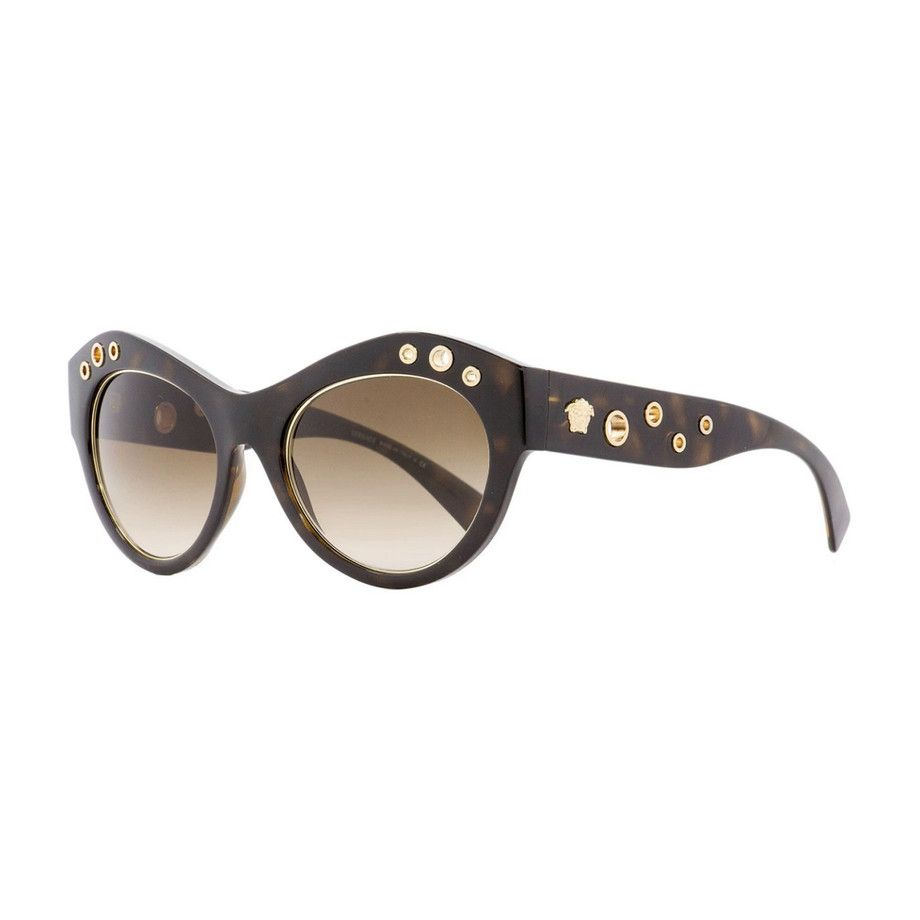 Versace Oval Sunglasses V1 Havana Gold #Affiliate