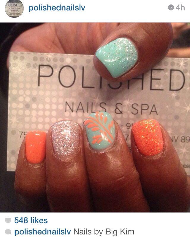 Love these shades of teal and coral. Just one design. Too much going ...