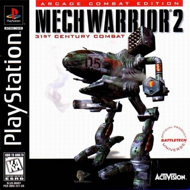 Mechwarrior 2 Sony Playstation Playstation Mechwarrior 2