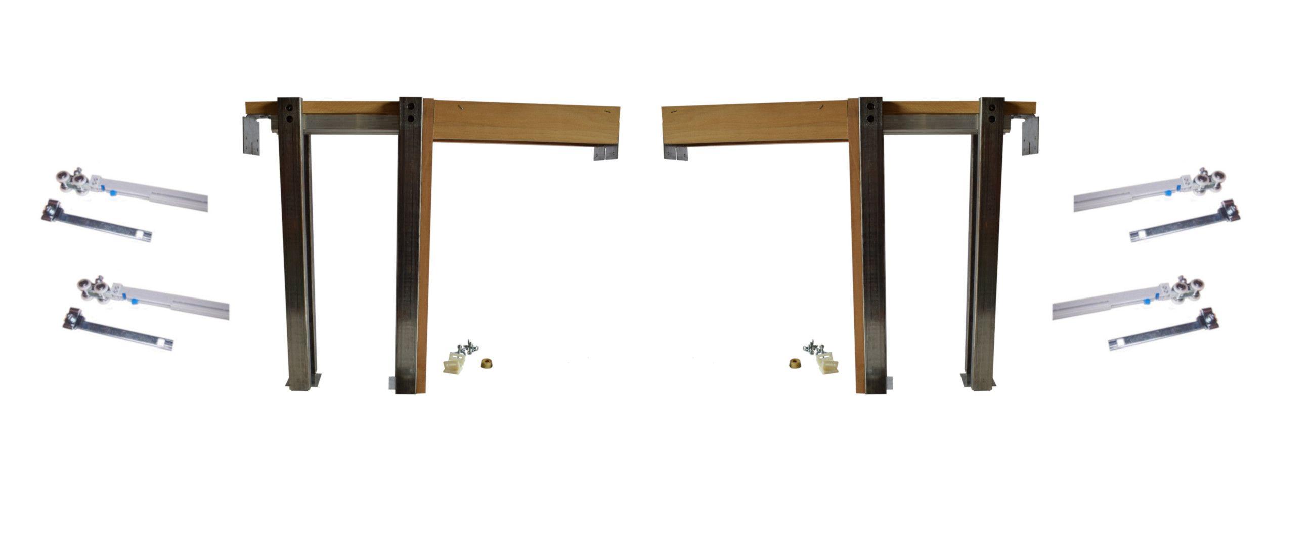 2650 Series Single Pocket Door Frame Kit With Soft Close Soft Open Pocket Door Frame Pocket Doors Door Frame