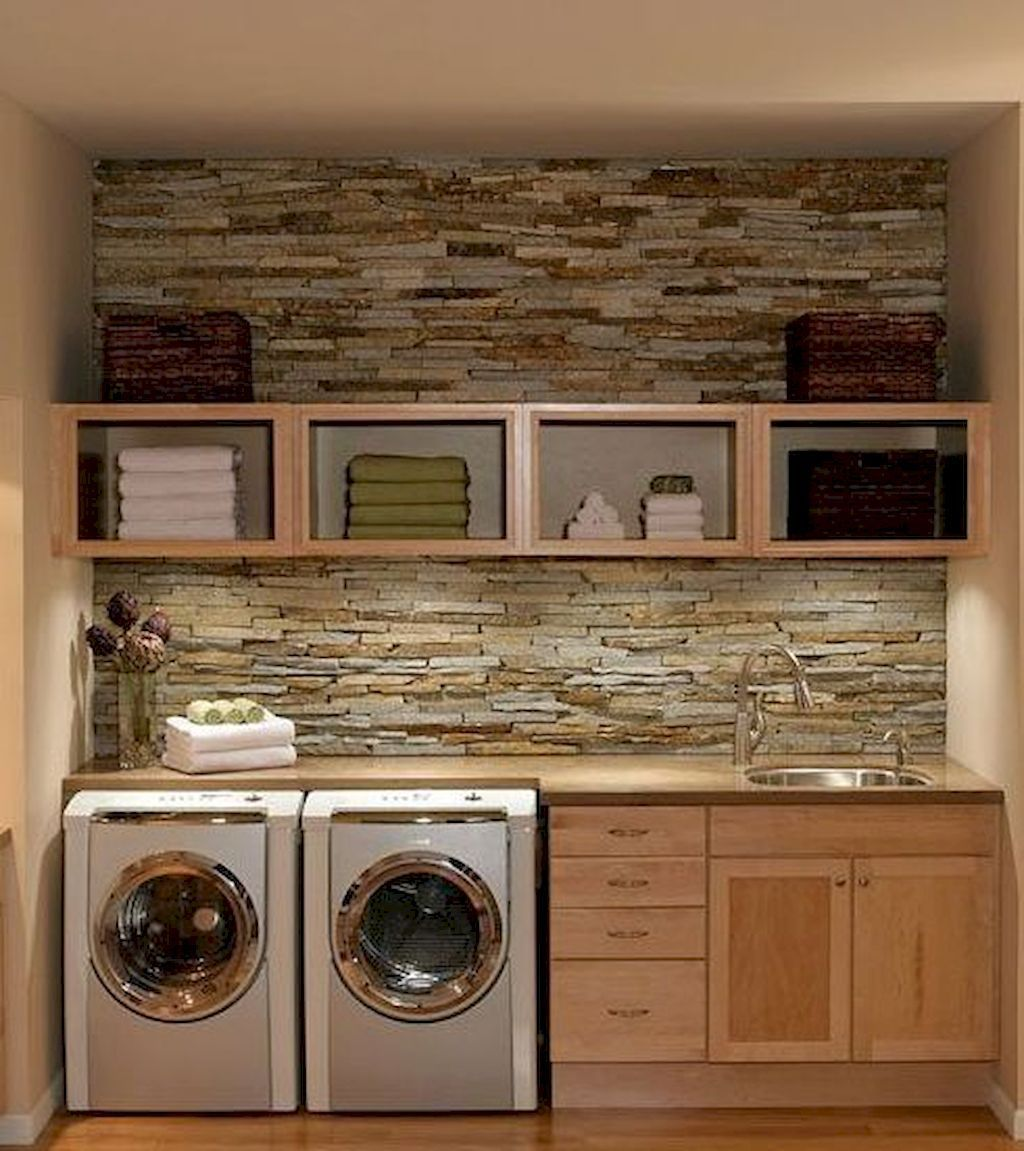 60 Beautiful Small Laundry Room Designs: Modern Farmhouse Laundry Room Ideas (60