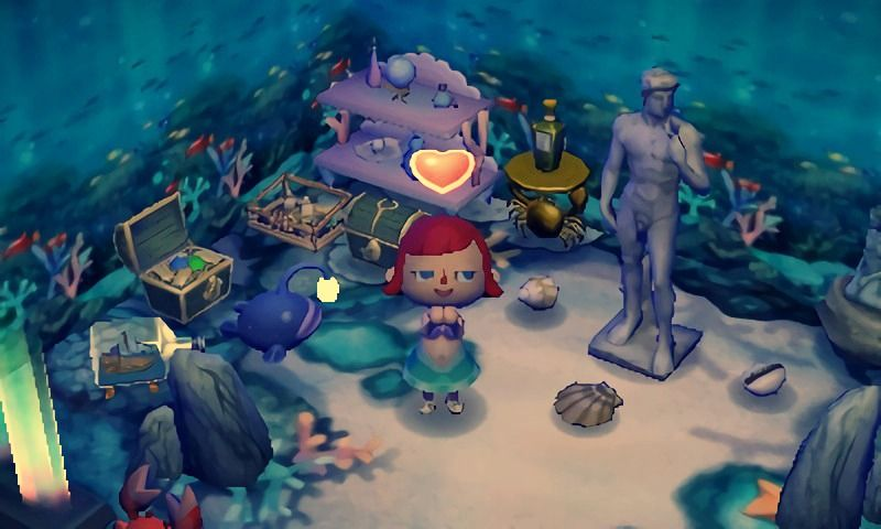 The Little Mermaid ♡ Animal crossing 3ds, Animal