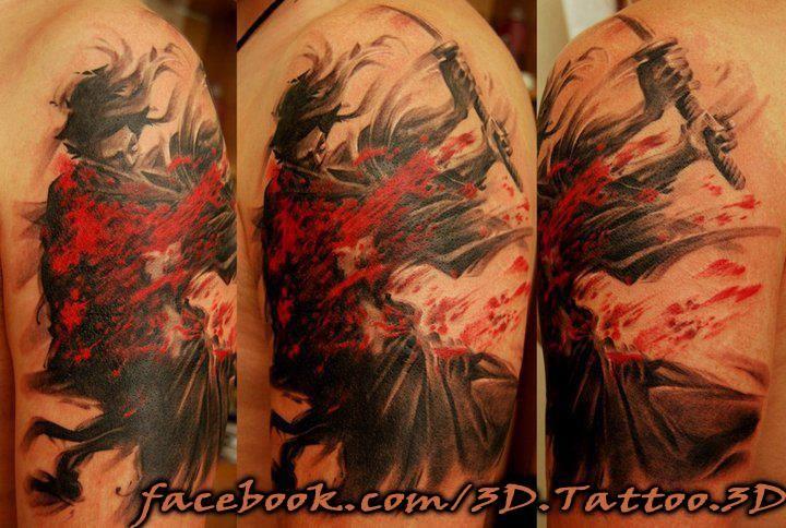 3dyakujacolorinktattoo tattoo ideen ideen