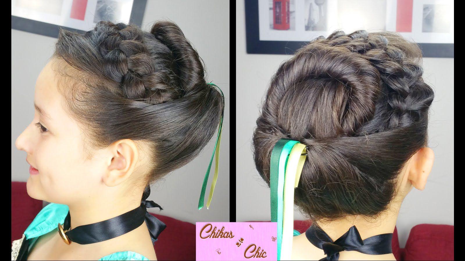 Princess Annas Coronation Hairstyle No Hair Extensions Frozen