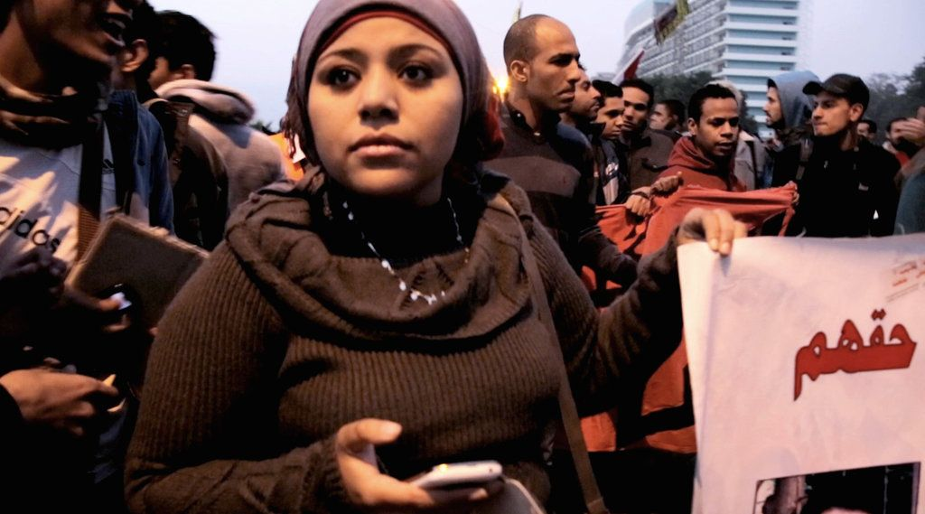 Hend Nafea and several others were dragged, beaten and stripped by Egyptian security forces at another demonstration against military rule in 2011.