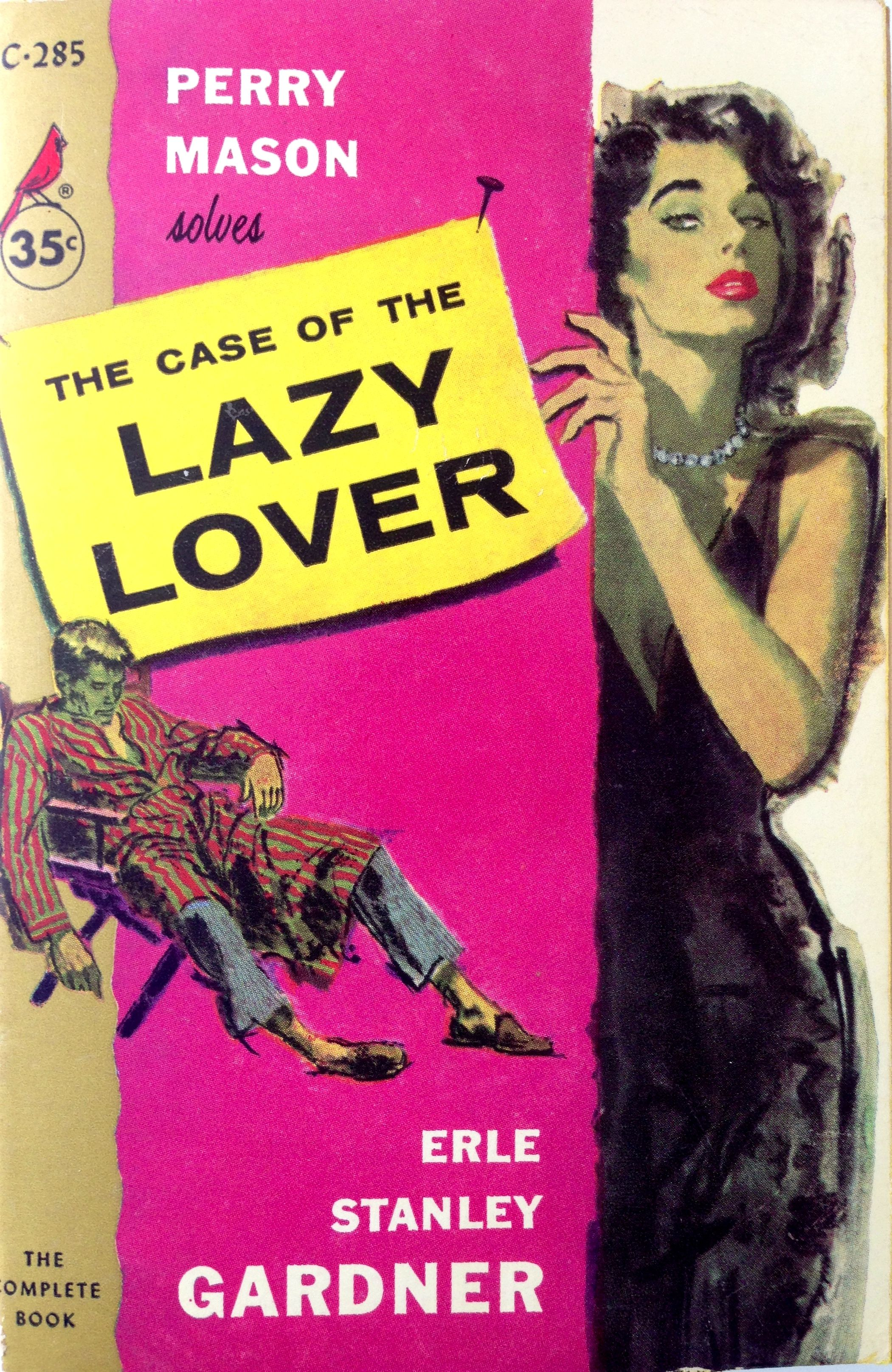 Originally Published In 1947 This Is First Cardinal Edition Pb Printed In 1958 Perry Mason Pulp Fiction Vintage Book Covers