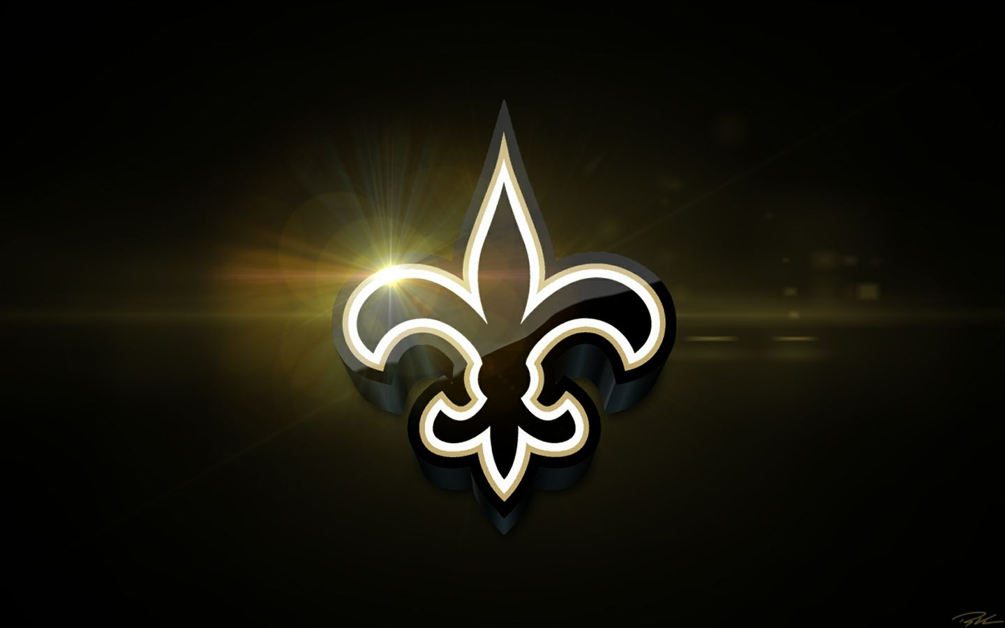 2018 New Orleans Saints Desktop Wallpaper Schedule.