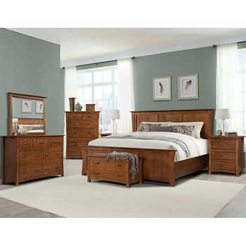 Chartres 7 Piece King Bedroom Set King Bedroom Sets Cheap