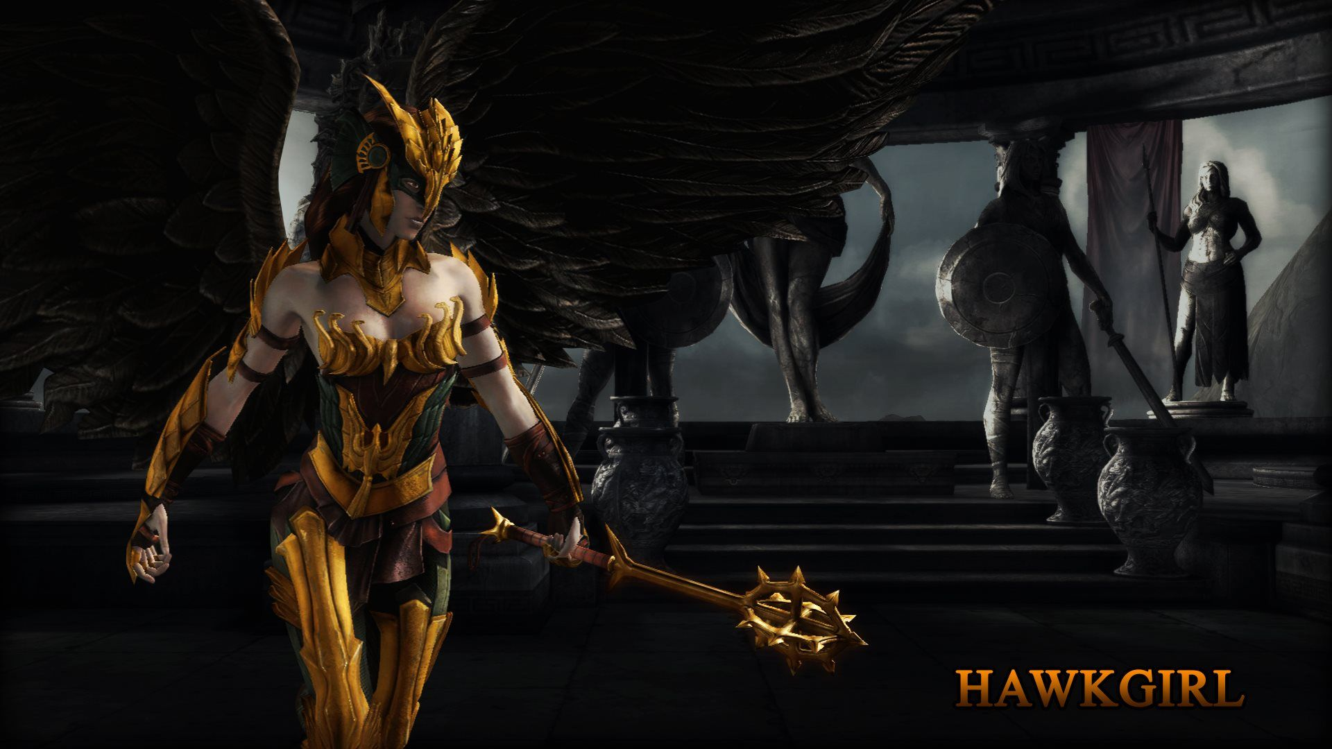 Pin by finewallpapers on 3d abstract pinterest hawkgirl hawkgirl regime wallpaper from injustice gods among us using program photoshop full size hawkgirl regime wallpaper voltagebd Gallery