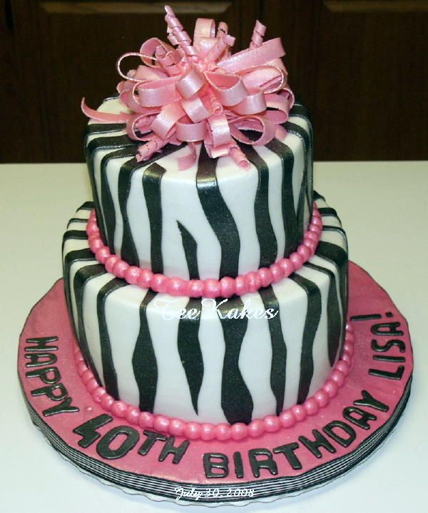40th birthday cakes for women 40th birthday cakes for for 40th birthday cake decoration