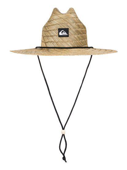 c30e785724f Pierside Slim Straw Lifeguard Hat AQYHA03741