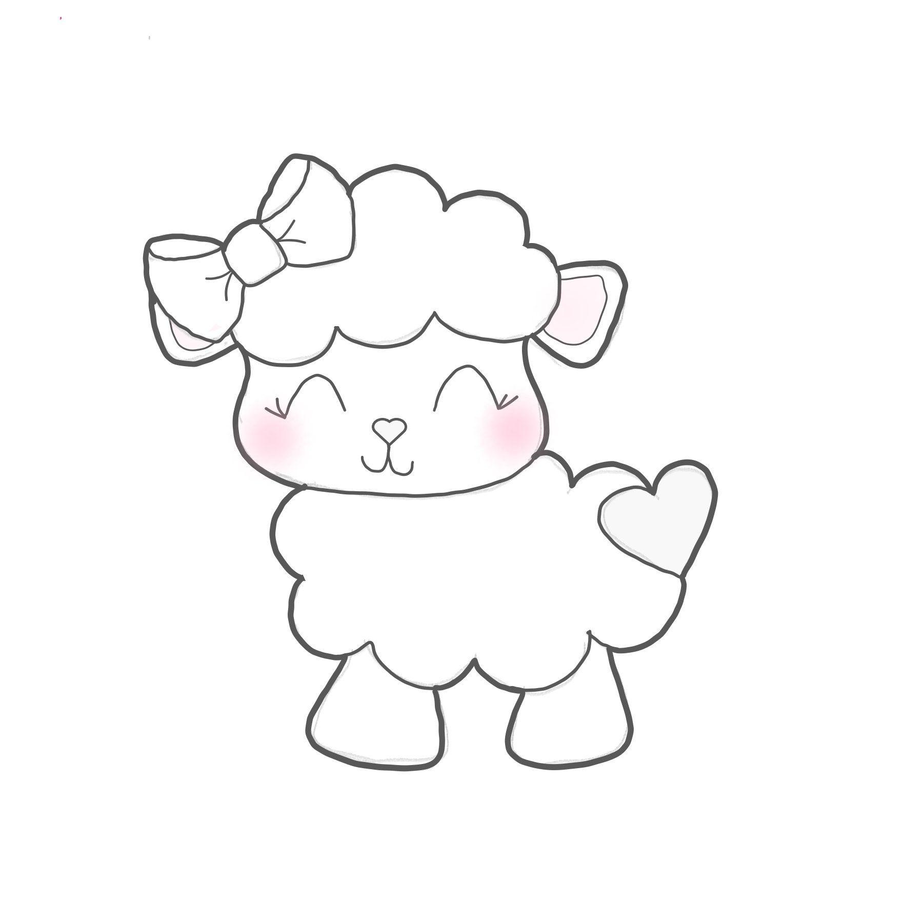 Lamb Cookie Cutter 2019 Illustrasyonlar Desenler Ve Elde Nakis