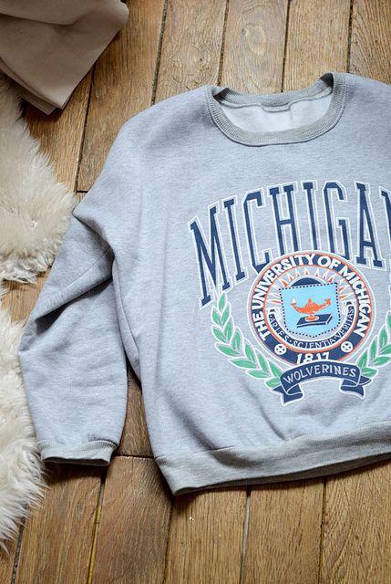 #michigan #sweatshirt