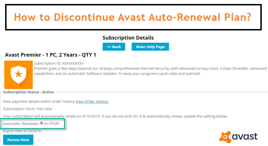 Contact Avast Uk How To Plan Renew Subscription