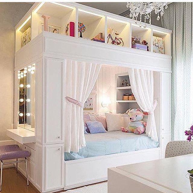 Construindo minha casa clean foto quartos pinterest for Mobilia bedroom