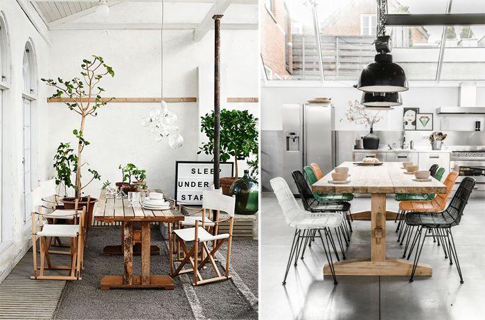 une table de salle manger jen rve table campagnarde une grande table en bois