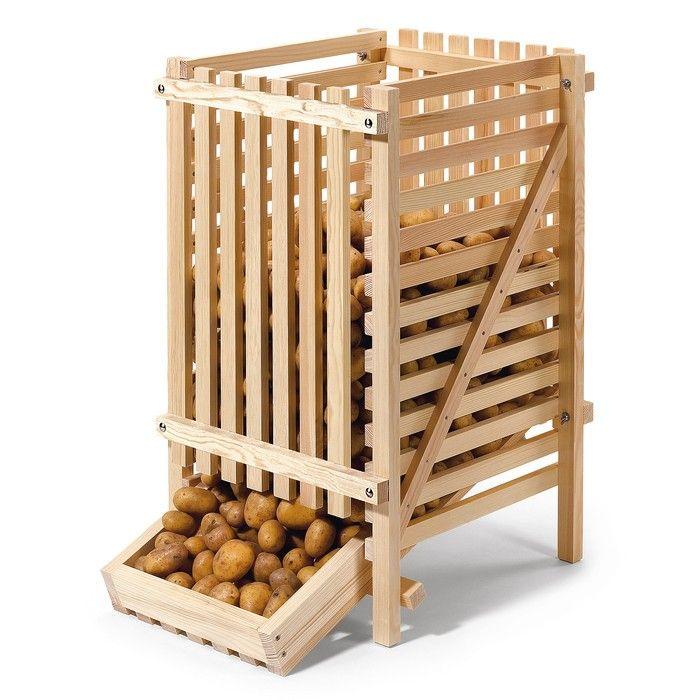 Potato Storage, Root Cellar