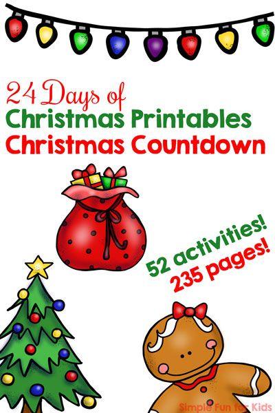 Day 3: Christmas Tree I Spy Game for Toddlers | Christmas ...