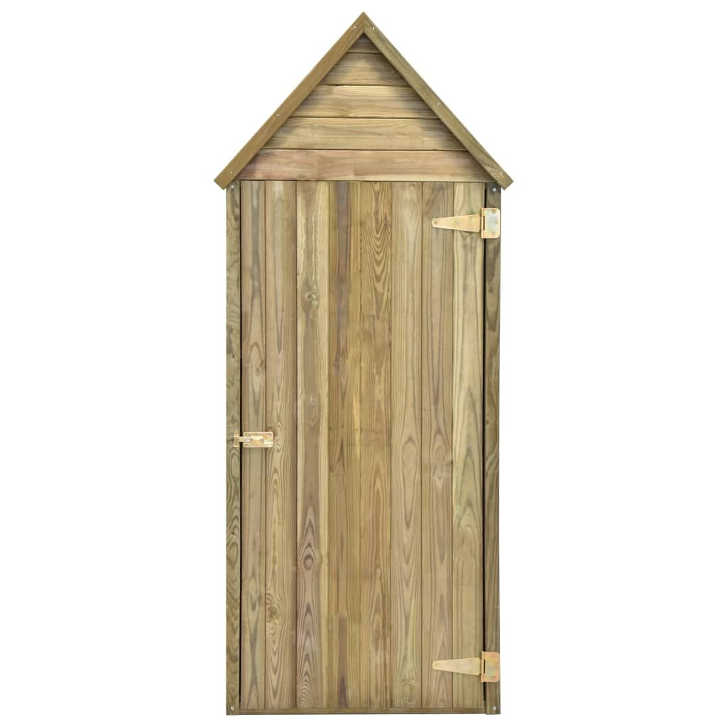vidaXL Garden tool shed 77x37x178 cm impregnated pine