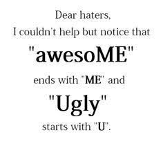 Image result for good comebacks for haters | Comebacks | Quotes