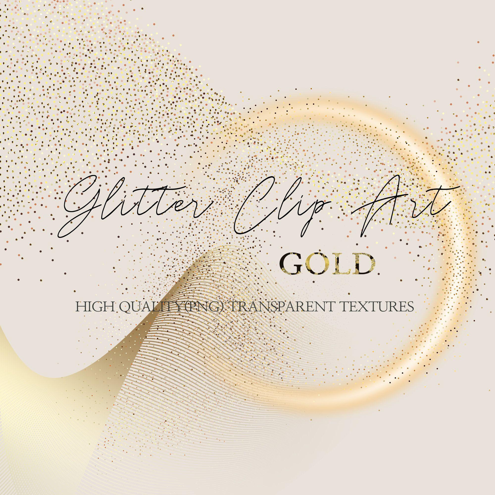 Gold Glitter Clip Art Gold Dust Clipart Fairy Dust Png Etsy Clip Art Fairy Dust Digital Paper