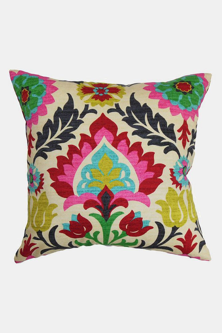 Eland Pillow House Boho Throw Pillows Floral Throw